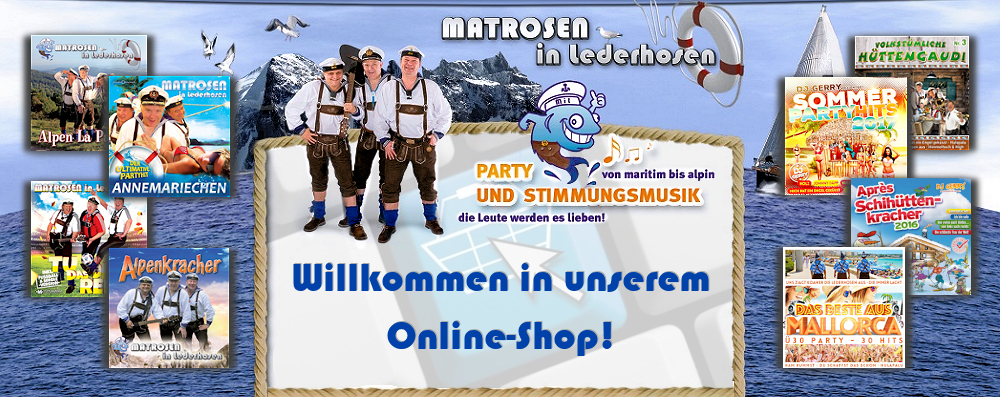 Matrosen in Lederhosen - Online Shop